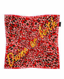Empowerment 'Duine ar leith' Silk Scarf | As seen: The Gloss +Indo LIFE Mag