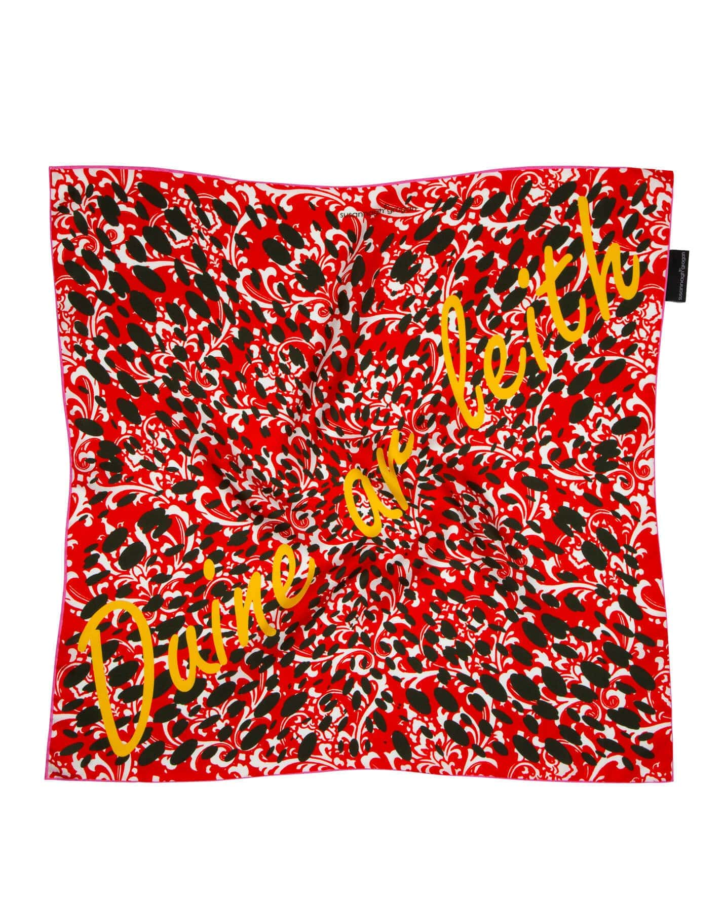 Boundless, Duine ar Leith Susannagh Grogan Silk Scarf Empowered Collection