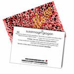 Boundless, post card Susannagh Grogan Silk Scarf Empowered Collection