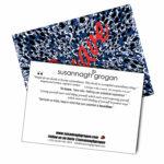 Empowerment Collection 'Brave' Post Card Susannagh Grogan Small Silk Scarf