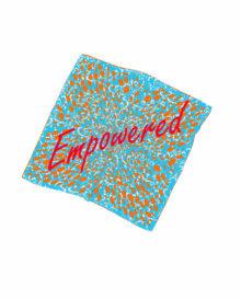Empowerment 'Empowered' Silk Scarf