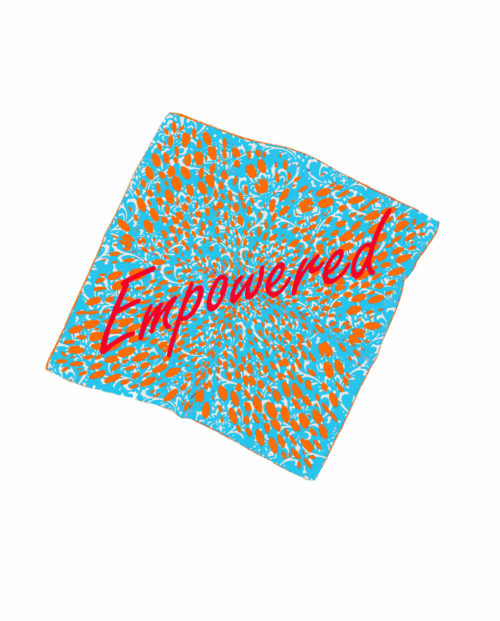 Empowered Susannagh Grogan Silk Scarves