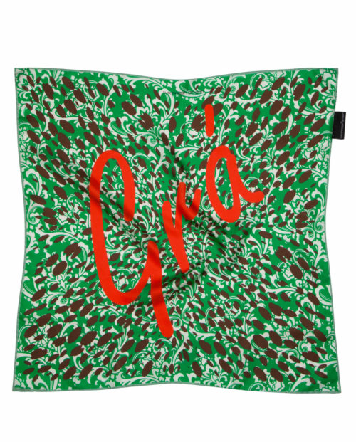 Love Gra silk scarf Empowerment Collection Susannagh Grogan Silk Scarves