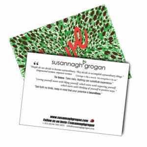Love postcard Susannagh Grogan Silk Scarves