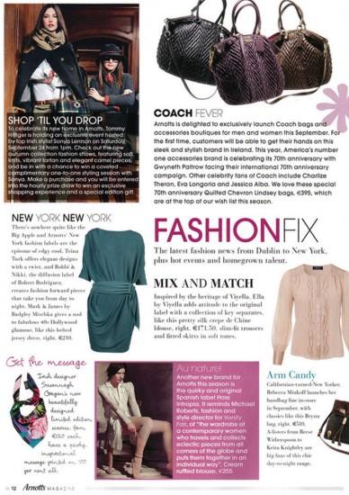 Arnotts Magazine Oct11