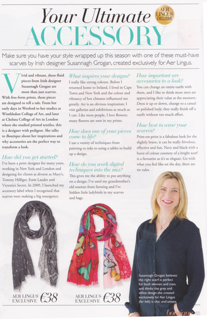 Susannagh Grogan Aerlingus Cara Magazine