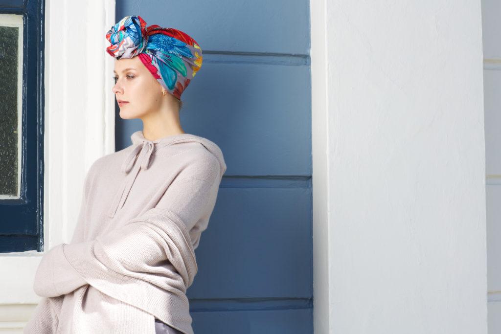 Susannagh Grogan Madigan Sketchbook Collection Silk Scarves Autumn Winter 2019 Irish Designers Collaborative photo shoot
