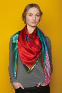 Susannagh Grogan Silk Scarf Ribbon Collection