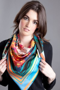 Susannagh Grogan Scarves Joy Silk Scarf