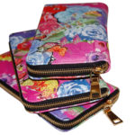 Susannagh Grogan Printed leather purse