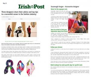 Irish Post InterviewMAY15