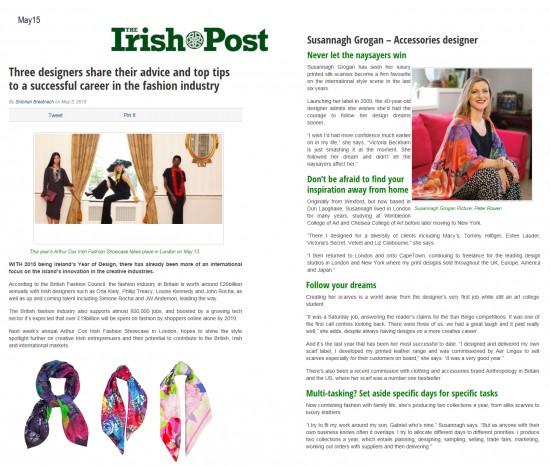 Irish Post Interview
