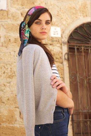 Headscarf Susannagh Grogan Bazaar Small Scarf 3