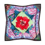 Susannagh Grogan - Multicolour Bazaar Tiles Silk Small Scarf
