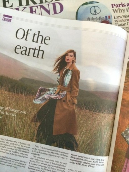 Irish Times Mag | Off The Earth