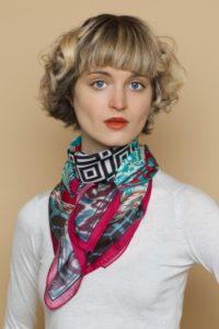 Susannagh Grogan Scarves Silk Scarf Bazaar Collection