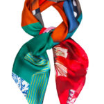 Silk Scarf by Irish Designer Susannagh Grogan