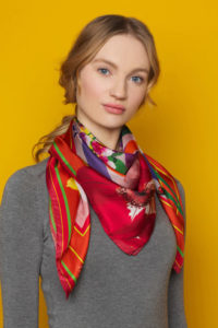 Silk Scarf 'Exaggerate' Susannagh Grogan Scarves