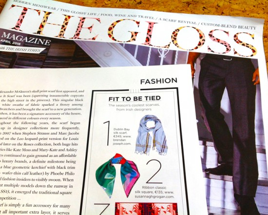 The Gloss | Fit to be Tied