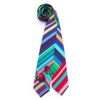 Susannagh Grogan - Printed Stripe Ladybug Silk Tie