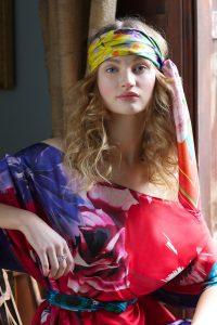 Susannagh Grogan Scarves. Silk Scarf and Silk Tunic