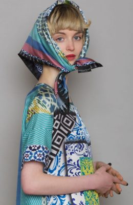 Susannagh Grogan Scarves On The Tiles Scarf Collection
