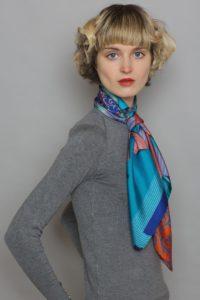 Silk Scarf by Irish Designer Susannagh Grogan