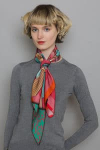 Pink Ribbon Scarf Susannagh Grogan Scarves