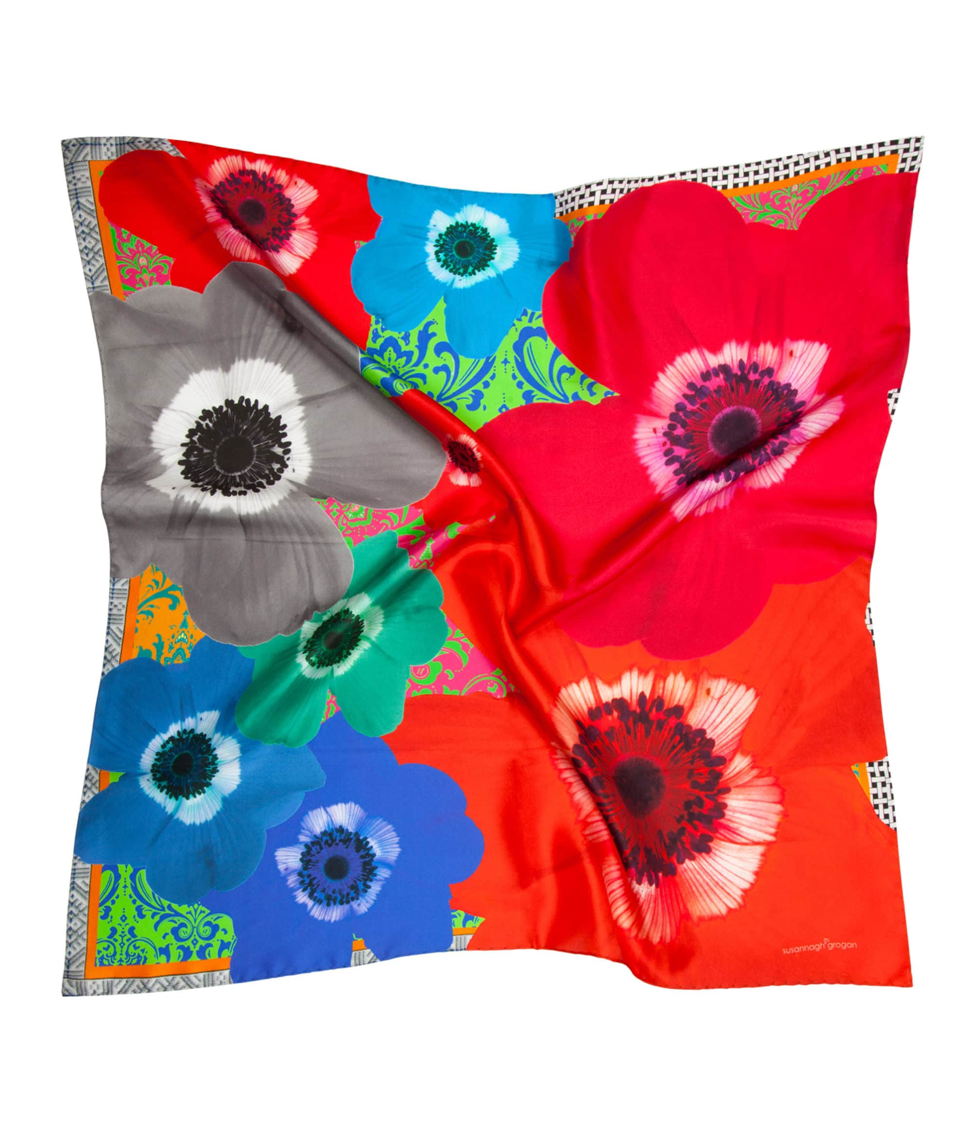 Colour Riot 'Floral Burst' Small Scarf
