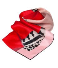 Red Ribbon Scarf Susannagh Grogan