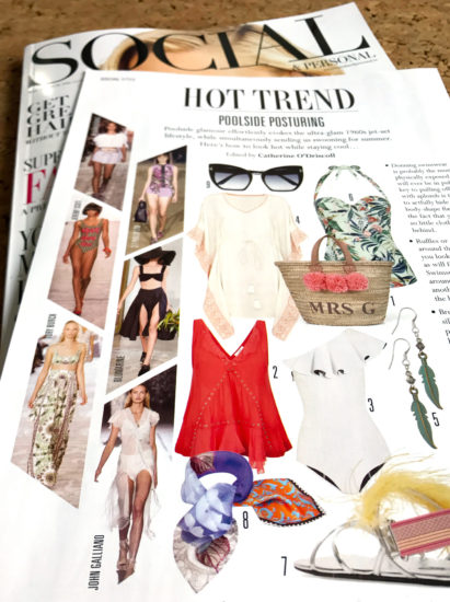 Hot Trends   Poolside ~ S&P