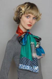 Bow Long Scarf Ribbon Collection Susannagh Grogan