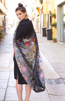 Love XL Scarf | Also in Navy or Red
