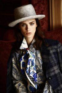 Susannagh Grogan Anthony Pelo Hats | Styling: Roxanne Parker Photo: Daniel Holfield