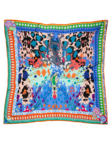 Susannagh Grogan Scarves 'Animal Magic' Extra large Square Scarf