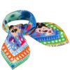 Susannagh Grogan Scarves Animal Magic Small Square Scarf