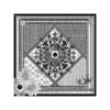 Susannagh Grogan Silk Scarves Black and White Medium Scarf