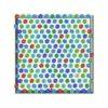 Susannagh Grogan Scarf Green & Blue Medium Silk Square
