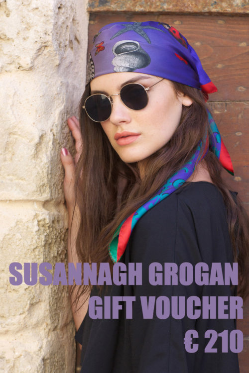 Susannagh Grogan Scarves Gift Voucher €210