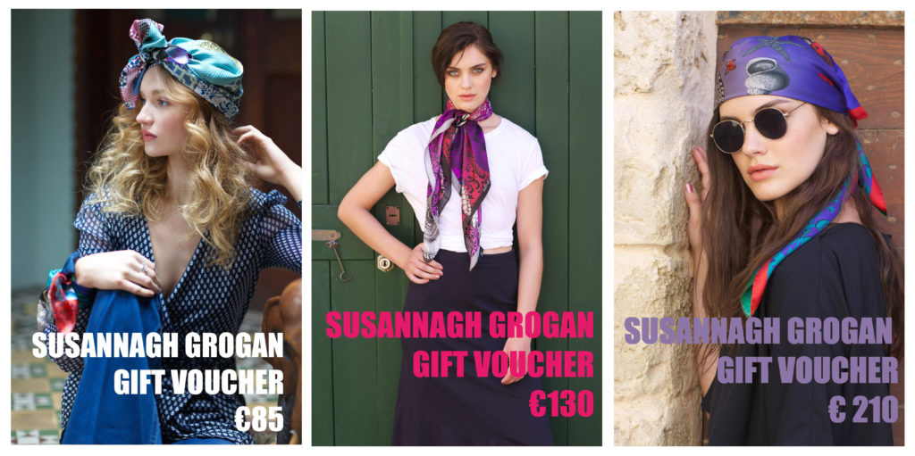 Gift Voucher Susannagh Grogan Irish Designer Scarves