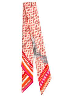 'Picnic Red' Classic l Silk Scarf