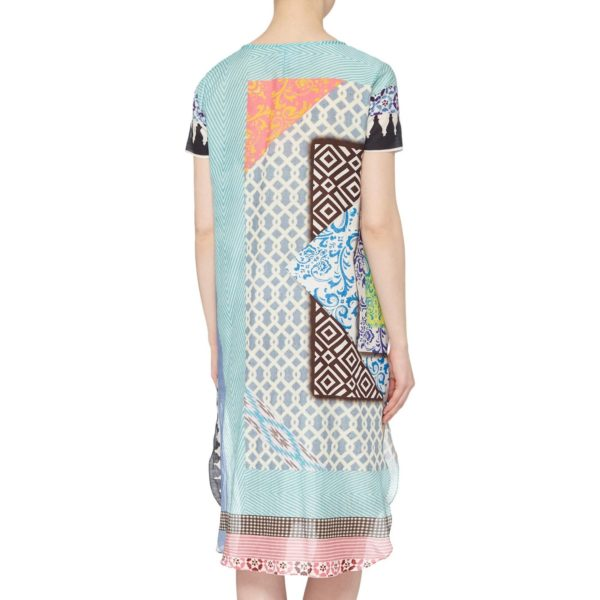 Irish Designer Susannagh Grogan ON THE TILES printed tunic dress & cover up