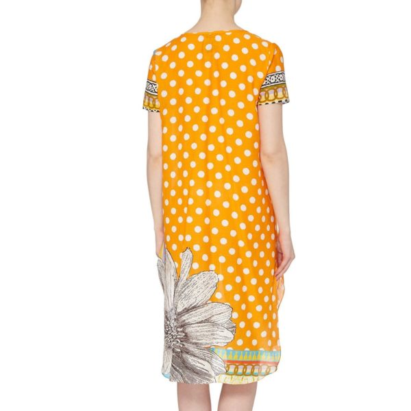 Susanangh Grogan ORANGE DOT Tunic Dress, Cover up