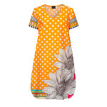 Susannagh Grogan Orange Polka Dot PICNIC PERFECT Tunic