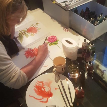 Susannagh Grogan Irish Printed Textile Designer | Studio life | Design process