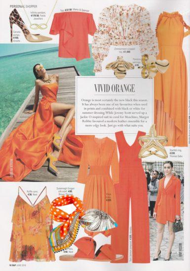 Vivid Orange | Social & Personal Mag