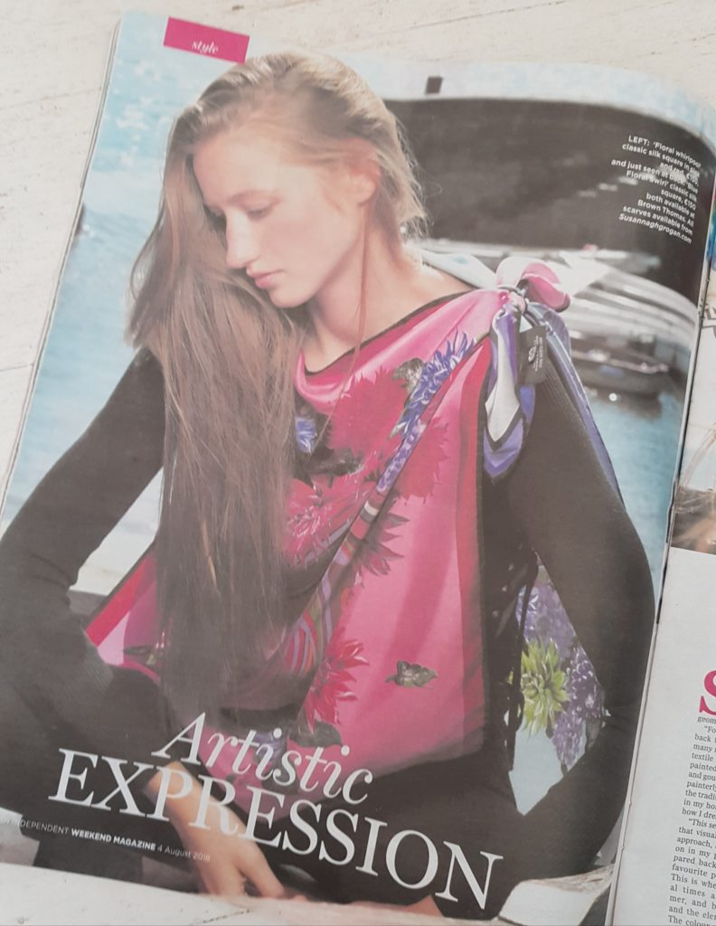 Susannagh Grogan Irish Print Designer Weekend Magazine Independent Magazine