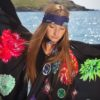 AW18 Flower Flash Silk Scarf Collection Irish Designer SUSANNAGH GROGAN