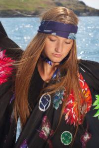 AW18 Flower Flash Silk Scarf Collection Irish Designer SUSANNAGH GROGAN