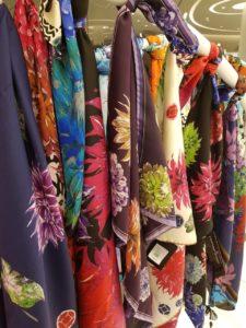 Susannagh Grogan Scarves Brown Thomas Shop display AW18